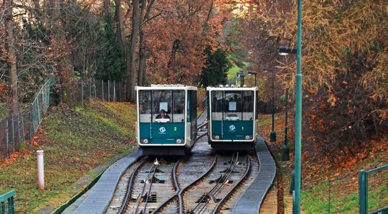 The Petřín Funicular